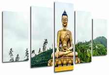 Cuadro Moderno Fotografico Buda, Buddha, Relax, Zen, 165 x 62 cm ref. 26325