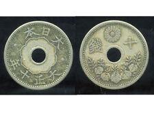 JAPON  10 sen  1921