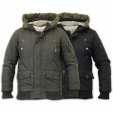 Brave Soul Waist Length Quilted Coats & Jackets for Men