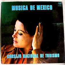 Maria de Lourdes Musica de Mexico 1970s RCA Consejo Nacional de Turismo SS LP