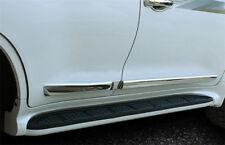 fit 2008-2018 Toyota Land Cruiser LC200 Chrome Body Side Door Molding line Trim