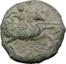 Magnesia ad Maendrum 350BC Warrior on Horse & Bulll Ancient Greek Coin i31779