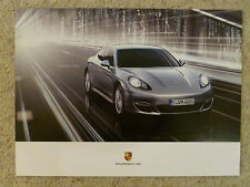 2013 Porsche Panamera Turbo Showroom Advertising Poster RARE!! Awesome L@@K