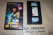 [4339] Rombo di tuono (1984) VHS 1° ediz. Cannon