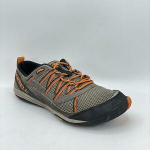 Merrell Mens Glove Sport Barefoot Vibrant Boulder Orange Running Vibram Shoes 10