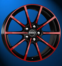Borbet BL5 8x18 5x112 ET 50 black red glossy/schwarz rot Alufelge neu!