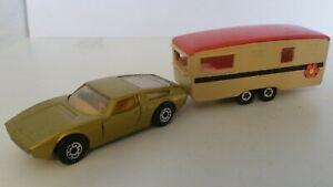 "Matchbox ""900 Series"" Maserati Bora and caravan (TP-4)"
