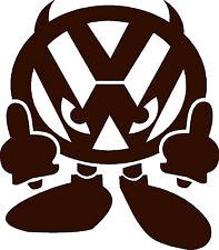 Volskwagen VW Devil Man Vinyl Decal / Sticker 5 inch