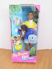 Big Brother Ken & Baby Brother Tommy 1996  African American Dolls Tommy Waves
