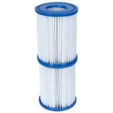 Bestway - Cartouche à Filtre Size 2 - Paquet de 6 - Piscine / SPA