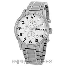 *NEW* MENS HUGO BOSS AEROLINER CHRONOGRAPH WATCH - 1513182 - RRP £350.00