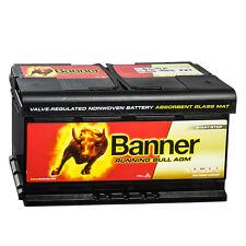 Autobatterie Batterie Banner 59201 AGM Starterbatterie 12V 92Ah Start-Stop