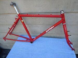 "17"" Vintage 1986 Specialized Rockhopper Mountain Bike Frameset 24"" Wheels RED"