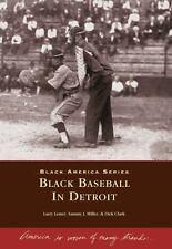 Black Baseball in Detroit (Black America: Michigan)-ExLibrary