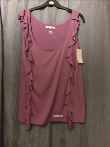 Billabong Purple Top Size M BNWT