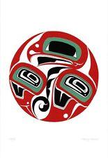 Eagle Danny Dennis Art Card Tsimshian Northwest Coast Native No. 598