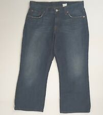 Lucky Brand Dungarees Classic Fit Crop Capri Pant Womens Size 6/28 (Q)