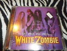 White Zombie - You Only Die Once Rare CD In Good Condition!!!