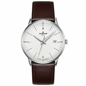 Junghans 058-4800.00 Men's Meister Mega White Quartz Watch