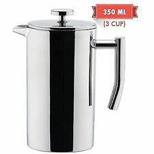 MIRA Stainless Steel French Press Coffee Maker Double Walled Insulated & Tea