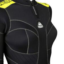 Brand New Waterproof W2 5mm  Full wetsuit Womens Yellow