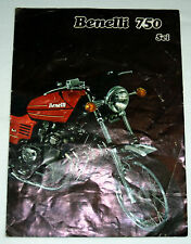 Benelli 750 Sei Sales Brochure - decent condition original