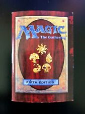 5th Edition Fifth Edition Starter Deck Rulebook Rule Book MTG 1996 Magic