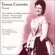 Teresa Carreño, Pianist, New Music