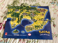 Prima Games Pokemon Yellow Map Insert