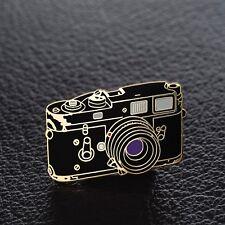 Leica Rangefinder Camera Enamel Pin