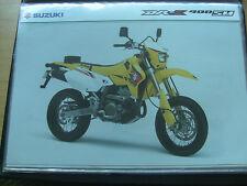 Suzuki DR-Z 400 SM sales brochure 2005