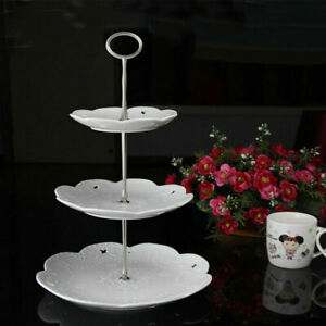 AB_ 2/3 Tier Cake Plate Stand Handle Fitting Hardware Rod Wedding Party Decor Bu