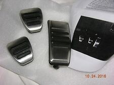 Obsolete 2007 - 2009 OEM Shelby SUPER SNAKE GT500KR GT500 Manual Pedal Cover Set