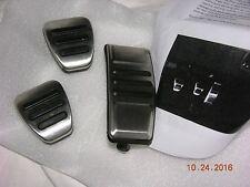 Obsolete 2007 - 2009 OEM Shelby SUPER SNAKE GT500KR GT500 Manual Pedal Cover Set