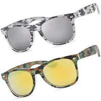 Men's Camouflage Vintage Sport Sunglasses Hunting Fishing Outdoor UV400 Camo