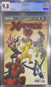 X-Force #13 Fortnite Variant CGC 9.8