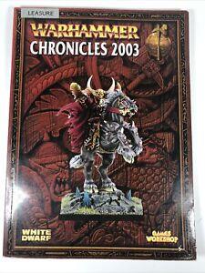 Warhammer Chronicles 2003 Supplement White Dwarf Games Workshop