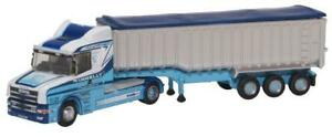 Oxford Diecast Scania T Cab Tipper - Tinnelly Livery - NTCAB005
