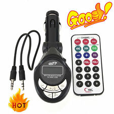 Best 4in1 Car MP3 Player Wireless FM Transmitter Modulator USB CD MMC Remote C1