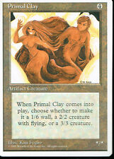 MAGIC THE GATHERING 4TH EDITION ARTIFACT PRIMAL CLAY