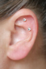 FREE SHIP Magnetic Diamond Stud Earrings, stainless steel ear cuff, no piercing