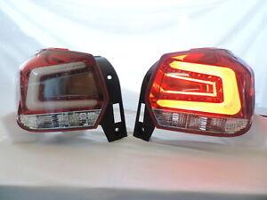 NEW LED Light Bar Red/Clear JDM Tail Lights For 12 13 14~16 Subaru XV Crosstrek