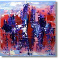"""Abstrakte Kunst Modernes Wandbild Gemälde """"Abstrakt """" Unikat Nr. 938"""