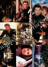 JAMES BOND GOLDENEYE MOVIE 1995 GRAFFITI COMPLETE BASE CARD SET OF 90