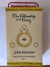 Lord of the Rings, The Fellowship of the Ring, JRR Tolkein 1991 PB Book