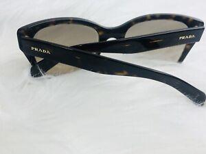 PRADA Sunglasses SPR09S 2AU-3D0 Gloss Tortoise ;Brown Gradient AUTHENTIC ITALY