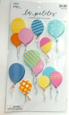 """LA PETITES NEW RELEASE!  """"COLORFUL GLITTER BALLOONS""""    3D STICKERS"""