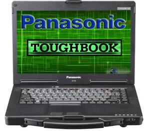 "Panasonic Toughbook CF-53 MK2 Core i5-3320M 14"" 4GB 250GB  HDMI RS232 DVDRW"