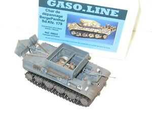 Solido Military Char German Troubleshooting Bergepanther Sdkfz 179 Gaso Line