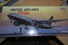 MINICRAFT 1:144  BOEING 777-200 UNITED AIRLINES   14483